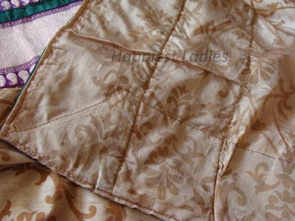 how to make a saree