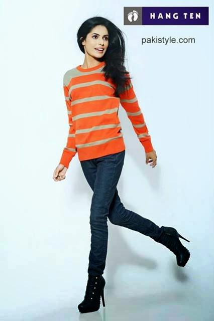 Hang Ten Fall Winter Stylish New Dresses 2013-14 For Men  & Girls
