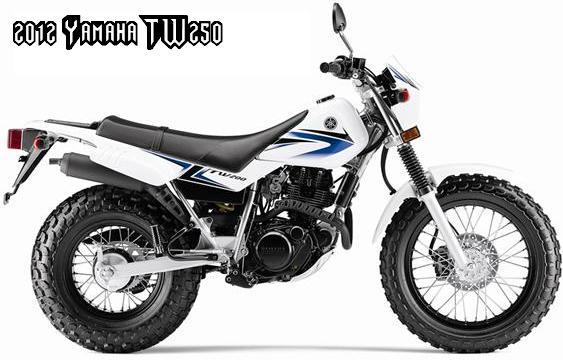 2012 yamaha tw200 yamaha dual purpose motorcycle