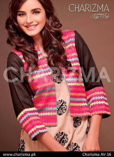 Charizma by Riaz Arts Winter collection 2013