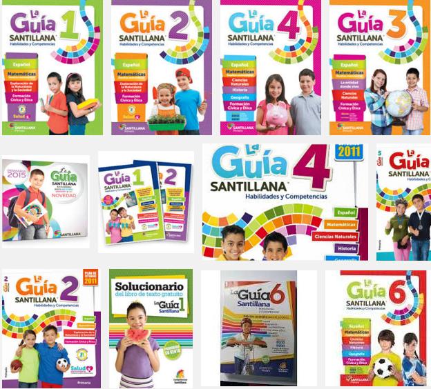 Apoyo Santillana 2015 Todos los Grados de Primaria + Libro del Maestro