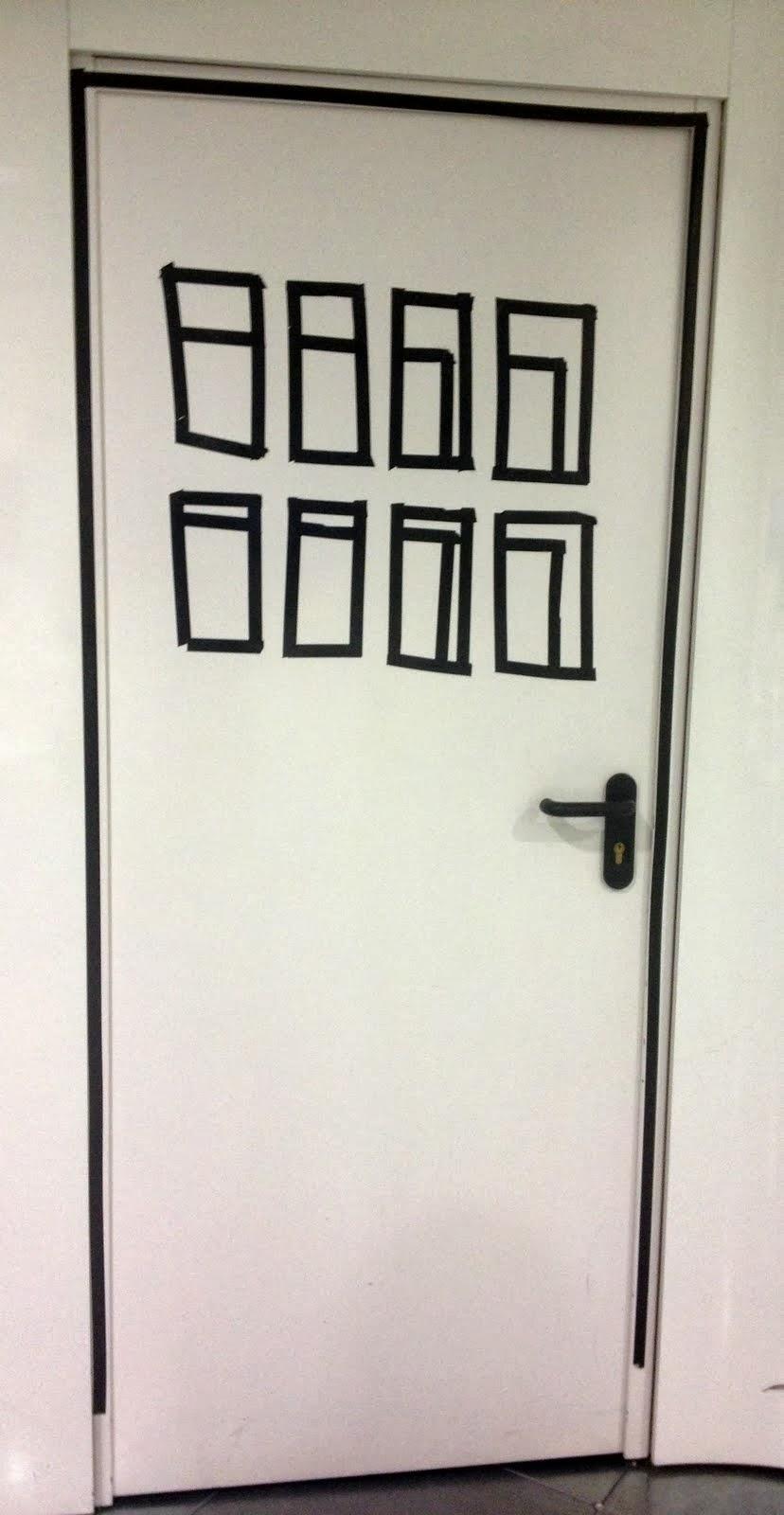 No sin mis hijos c mo decorar y personalizar una puerta - Como lijar una puerta ...