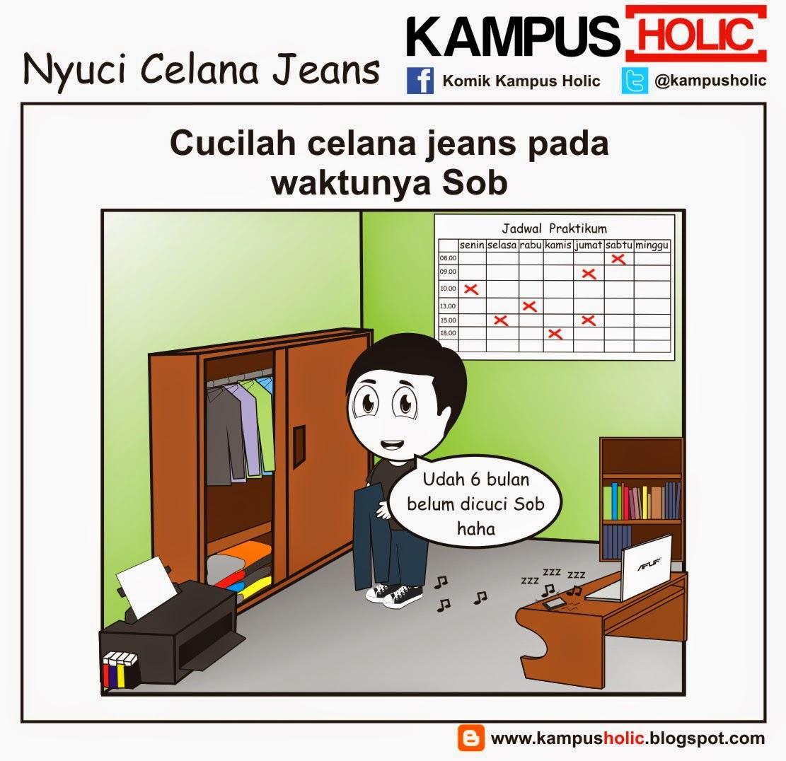 #515 Nyuci Celana Jeans