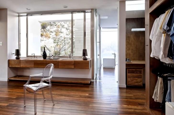 Bathroom in Modern dream home by Paz Arquitectura