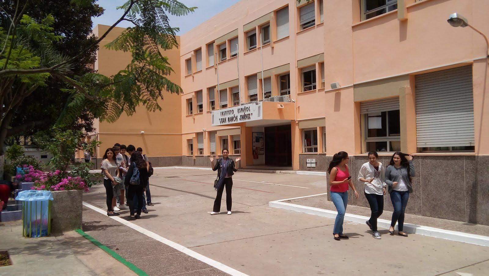 "Instituto Español ""Juan Ramón Jiménez"". Casablanca. Marruecos"