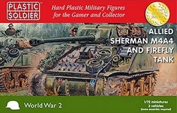 Plastic+Soldier+Company+Sherman+WIP1+(1)