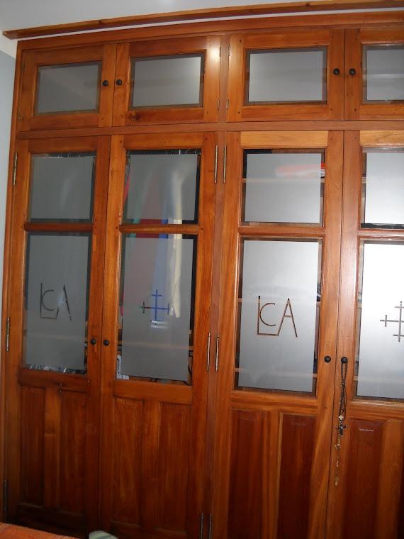 Decorhogar amoblamientos mueble para pc for Puertas recicladas