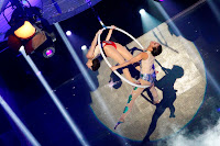 Anne and Karylle in a breathtaking stunt