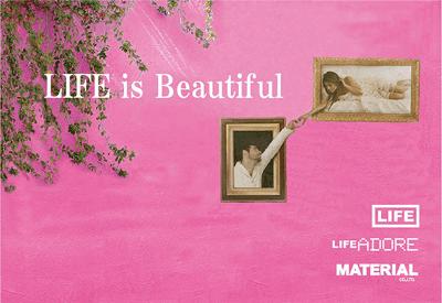 LIFE ライフ / LIFE ADORE ライフアドア / 京都のヘアサロン LIFE,LIFE ADORE / MATERIAL Co.,Ltd.