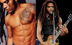 Lenny Kravitz dreads