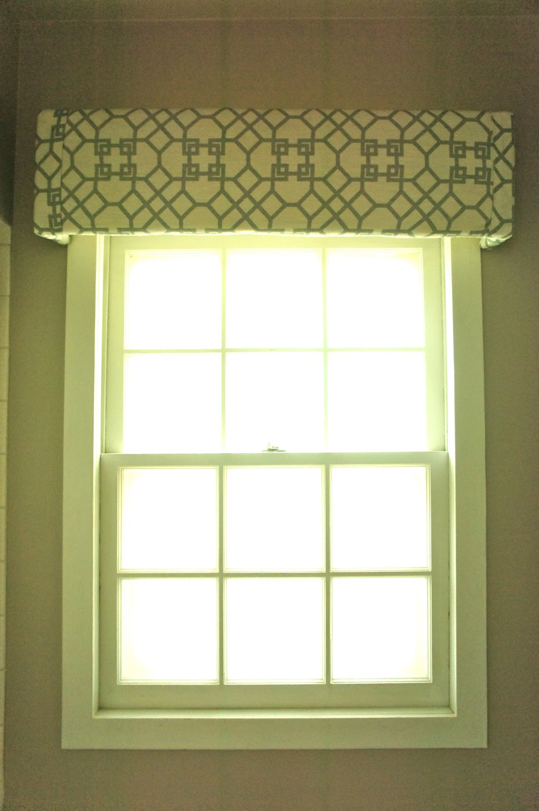 Clementine and Olive Life Style Blog: Easy Window Cornice DIY