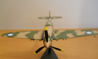 maqueta avión en miniatura Italeri Curtiss P-40 Warhawk Flying Tiger