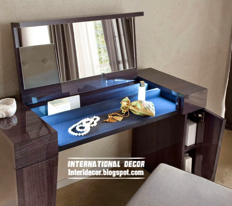modern dressing table with LED light, buy dressing table