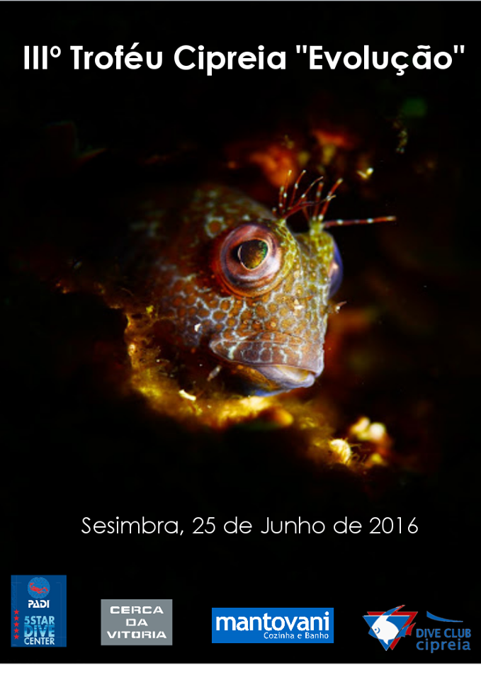 3º TROFEU EVOLUÇÃO 2016 - CIPREIA DIVE CLUBE