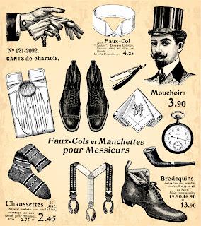 ヴィンテージ ファッション デザイン Vintage fashion design illustrations イラスト素材3