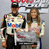 Tony Stewart grabs the pole for the Duck Commander 500 at Texas