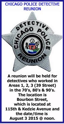 Chicago Police Detective Reunion