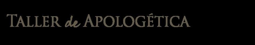 Taller de Apologética