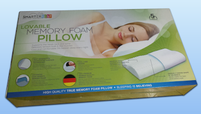 Memory Foam Pillow by Smarter Rest