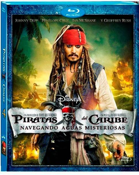 Piratas Del Caribe Navegando Aguas Misteriosas (2011) m720p BDRip 3.7GB mkv Dual Audio AC3 5.1 ch