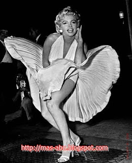 Foto-foto Bersejarah di Dunia - Marilyn Monroe