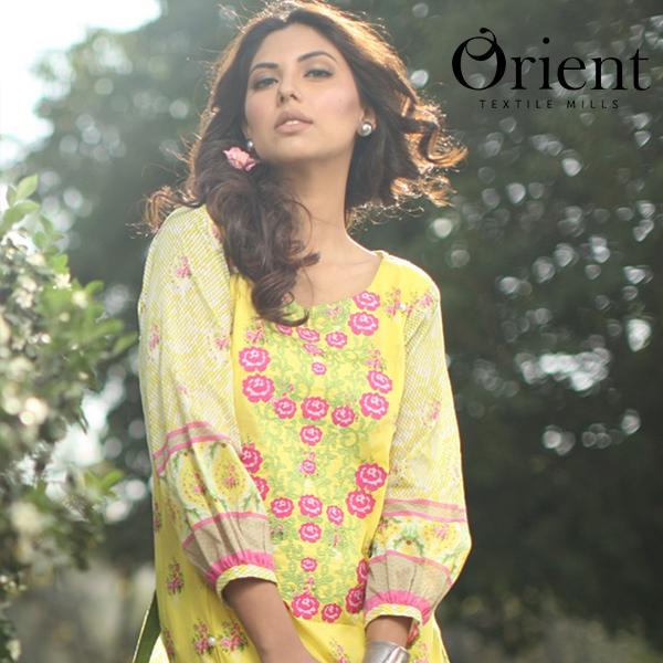 Orient Spring Summer Lawn Chiffon Dresses 2015