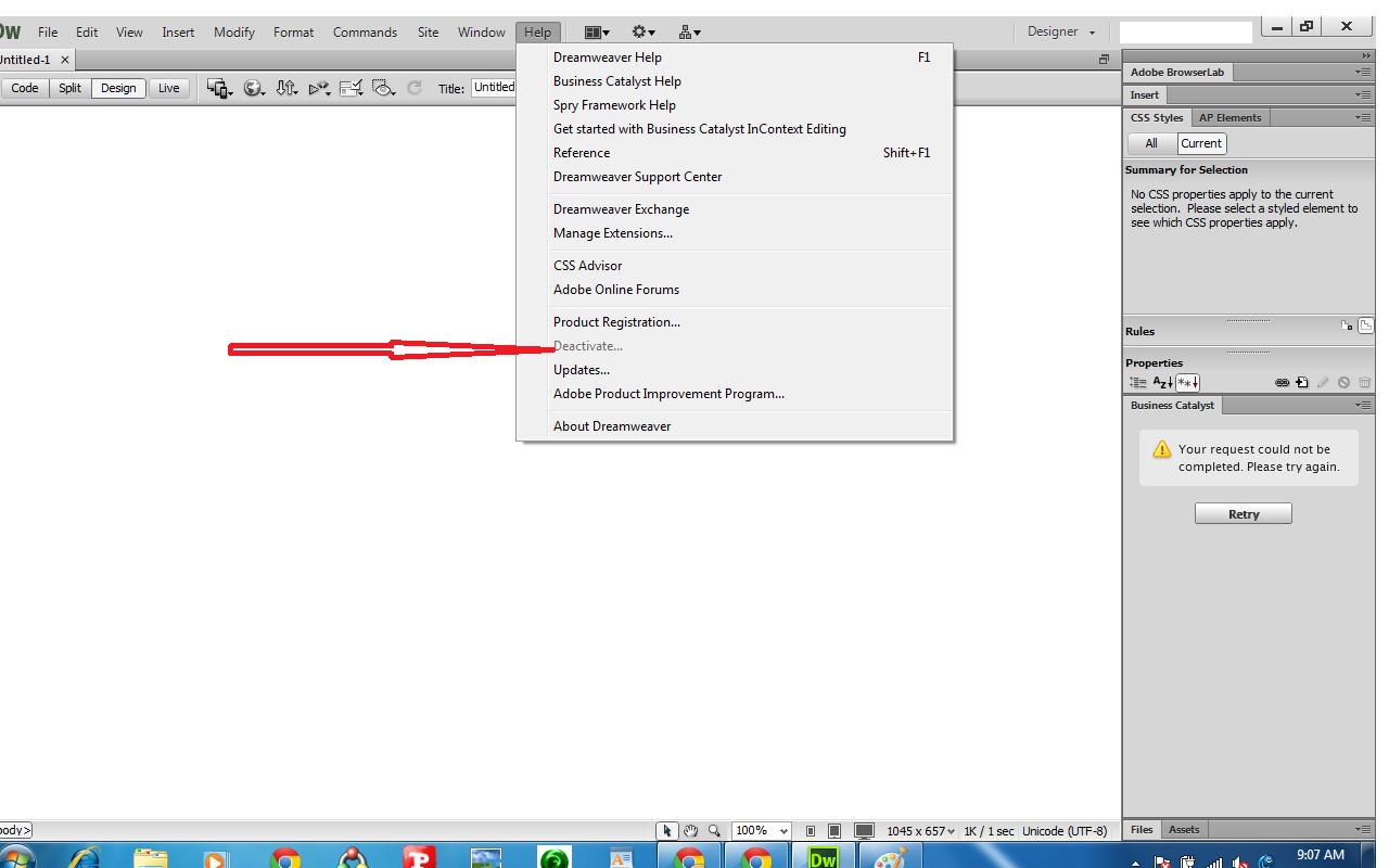 6 Nov 2012 Kali ini saya akan membuat artikel mengenai Free Download Adobe Dreamweaver