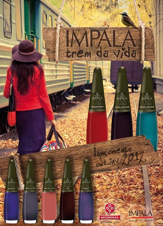 coleção de esmaltes outono/inverno term da vida da impala