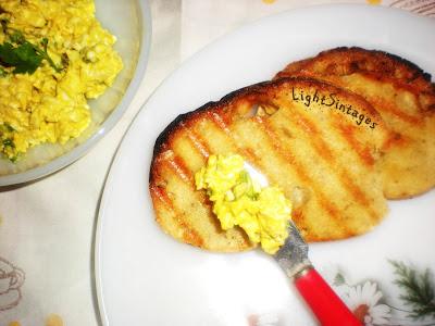 Light σαλάτα με αυγά