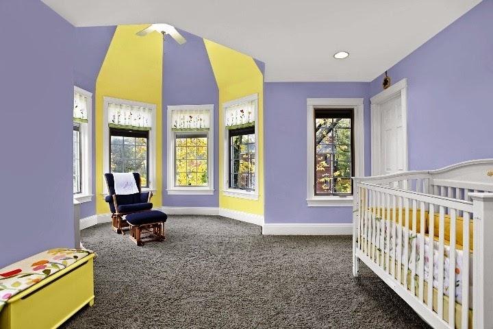 top nursery wall paint color ideas for 2012