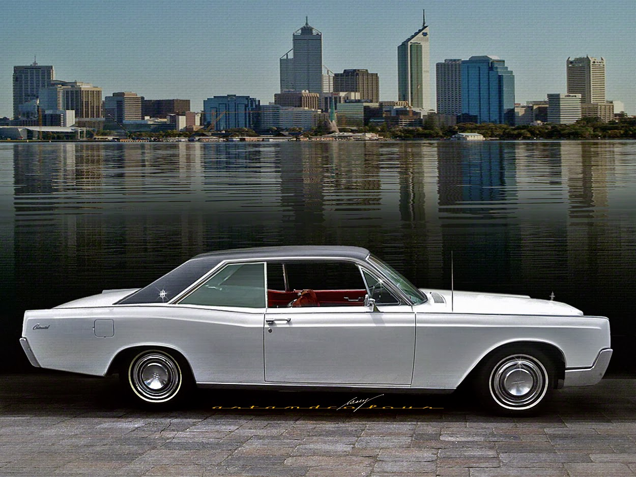 Casey artandcolour cars february 2012 -  I Ve Found Changing All The Proportions Of A 1966 Lincoln Continental 2 Door Coupe Gives Us An Interesting Compact Sized Luxury Car