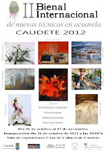 ORGANIZADOR OFICIAL DE LA II BIENAL CAUDETE 2012