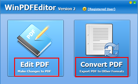 Win PDF Editor Free Registration Key Download