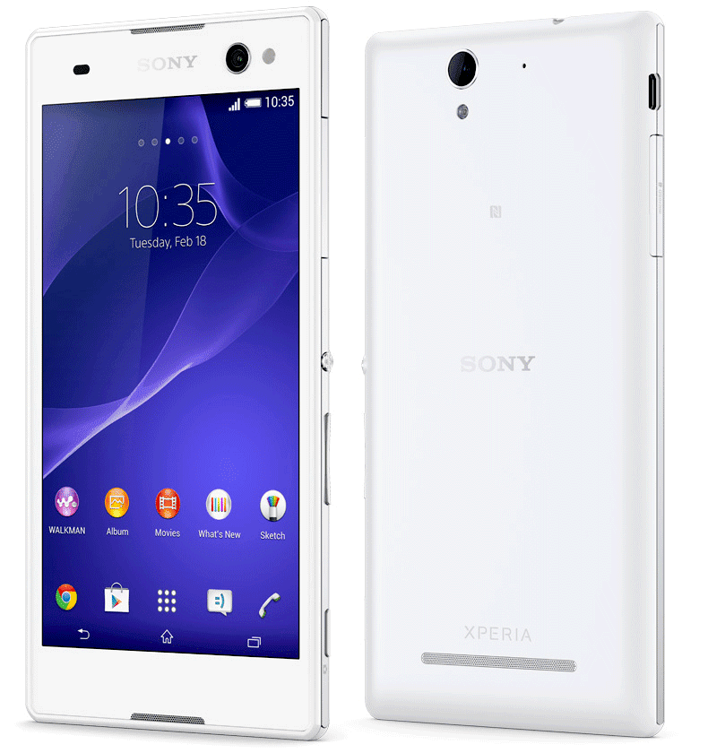 Sony Xperia C3 (White) Smart Phone