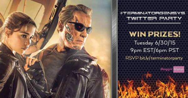 Terminator Genisys Twitter Party Bloggin Mamas
