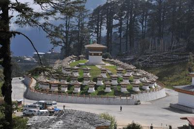 Beautiful Place in Bhutan