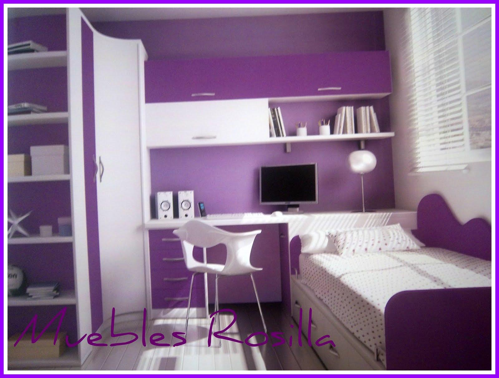 Muebles rosilla herv s dormitorios juveniles for Muebles juveniles de calidad