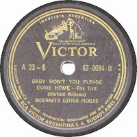 Baby Won't You Please Come Home-McKinney's Cotton Pickers