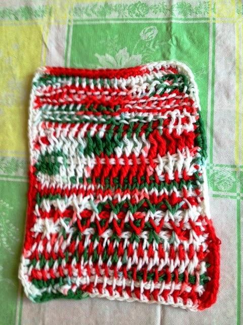 Craft Attic Resources Tunisian Crochet Dishcloth Sampler