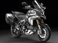 2012 Ducati Multistrada 1200S Touring Gambar Motor 1