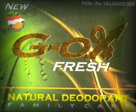 G-OX Fresh Menghilangkan Bau Badan yang Tidak Sedap