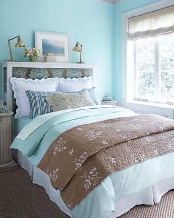 m nica dise os dormitorios en celestes. Black Bedroom Furniture Sets. Home Design Ideas