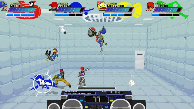 Lethal League PC Games Gameplay