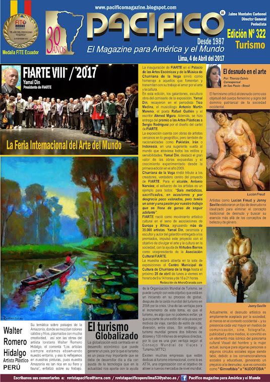 Revista Pacífico Nº 322 Turismo