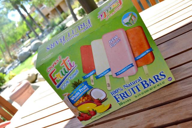 #FreshNFruti Fruti non-GMO verified frozen fruit bars from Sam's Club