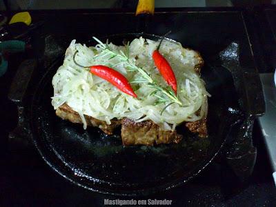 Munik Boteco Gourmet: Carne do Sol na Chapa
