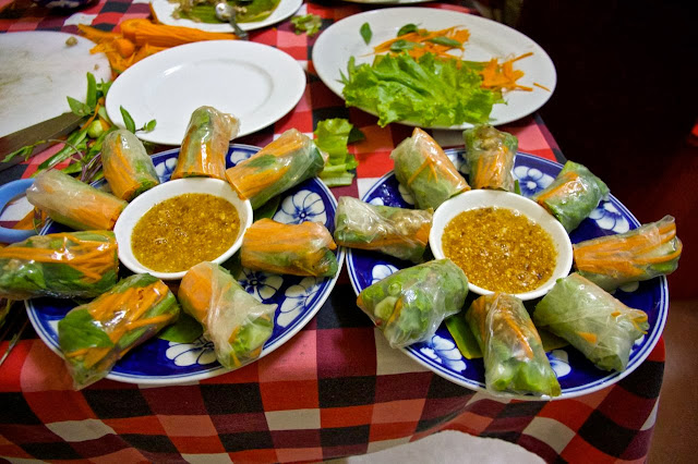 great easy recipe for spring rolls