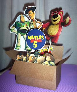 Centros de Mesa Toy Story, parte 2