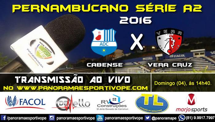 Ao vivo - Neste domingo (04), direto do estádio Gileno de Carli!