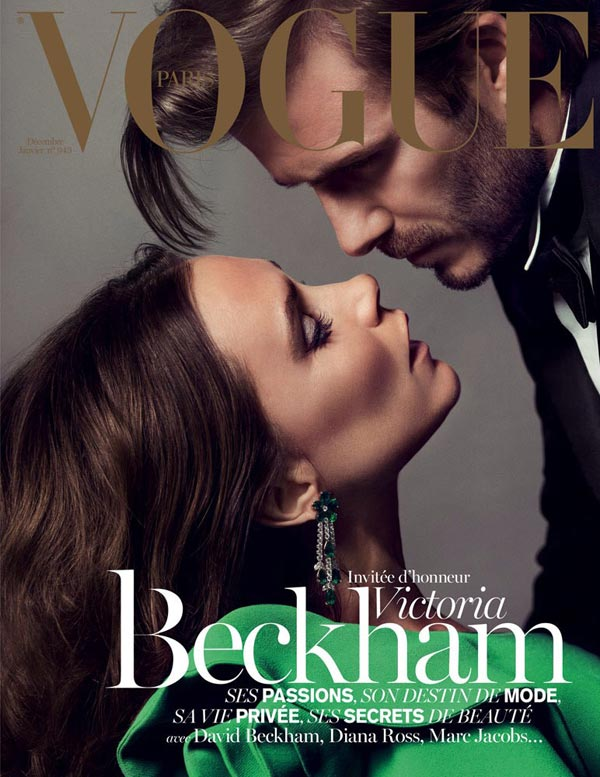 david and victoria beckham for vogue paris